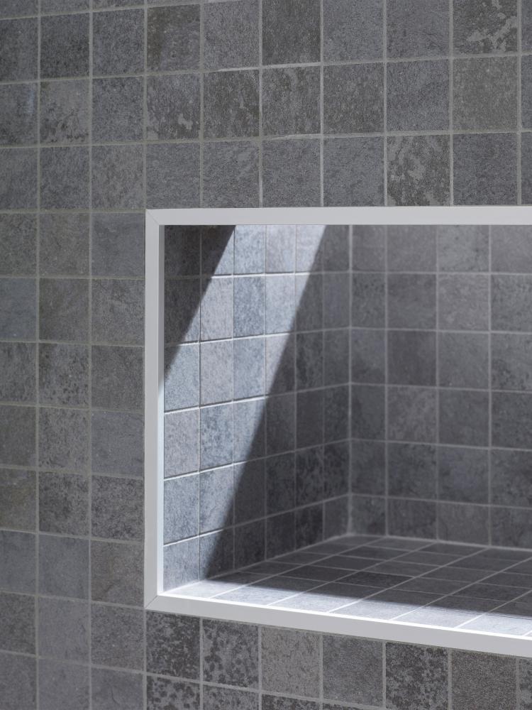 Porcelanosa Deep Grey Nature Mosaic 29.7 x 29.7 cm