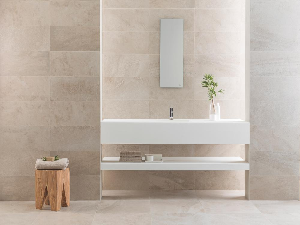 Porcelanosa Deep White Nature 59.6 x 59.6 cm, Porcelanosa Deep White Nature 29.7 x 59.6 cm