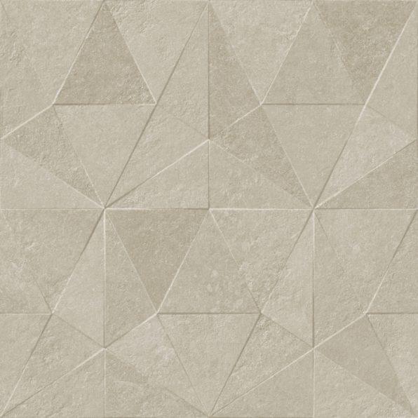 Porcelanosa Thao Verbier Silver Tile 59.6 x 59.6 cm